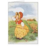 Vintage Little Bo Peep Mother Goose Nursery Rhyme Greeting Cards