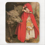 Vintage Little Red Riding Hood Jessie Wilcox Smith Mouse Pads