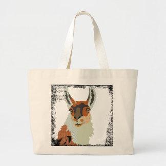 Vintage Llama Art Bag