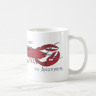 Vintage Lobster Coffee Mug