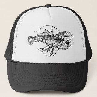Vintage Lobster illustration Trucker Hat