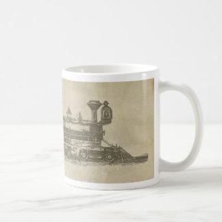 Vintage Locomotive Mug