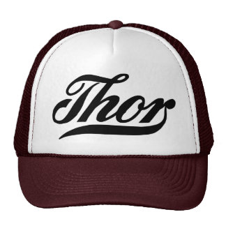 Vintage logo Thor motorcycles Cap