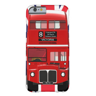 Vintage London Bus and Union Jack Barely There iPhone 6 Case