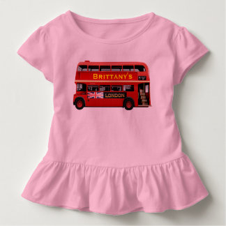 Vintage London Double Decker Bus Toddler T-Shirt