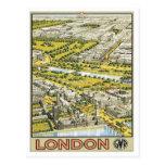 Vintage London England Post Card