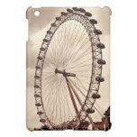 Vintage London Eye UK iPad Case