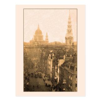 Vintage London Fleet Street St Paul s Postcards