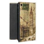 vintage london landmark landscape big ben iPad mini case
