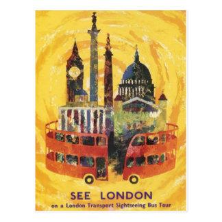vintage London Postcard