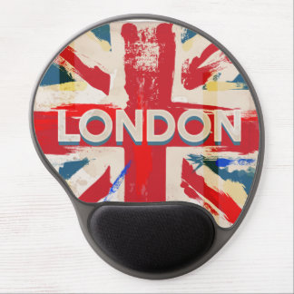 Vintage London Union Poster Gel Mouse Pad