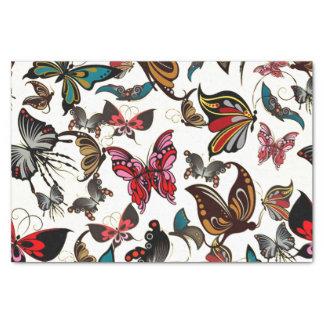 Vintage Look Butterflies Tissue Paper