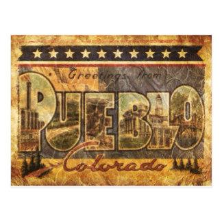 Vintage Look Colorado Postcard