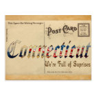 Vintage Look Connecticut Old Postcard