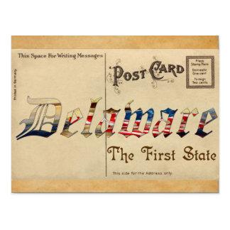 Vintage Look Delaware Old Postcard