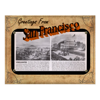 Vintage Look San Francisco Post Card