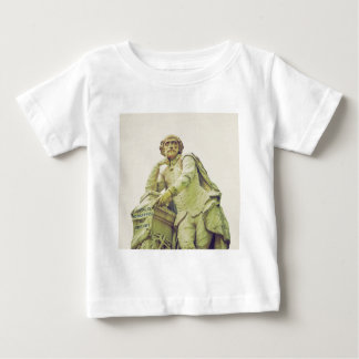 Vintage looking Statue of William Shakespeare Baby T-Shirt