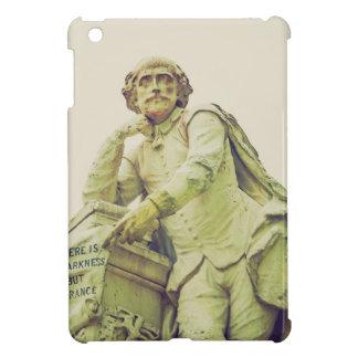 Vintage looking Statue of William Shakespeare iPad Mini Cases