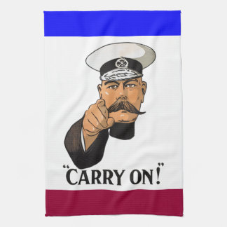 Vintage Lord Kitchener Carry On Kitchen Towel