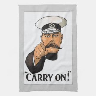 Vintage Lord Kitchener World War 1 Kitchen Towel
