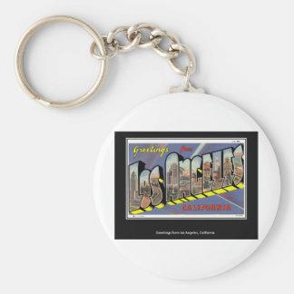 Vintage Los Angeles California Vintage Keychains
