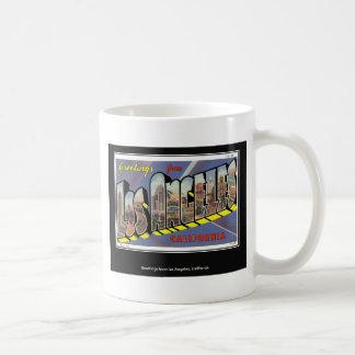 Vintage Los Angeles California Vintage Mugs