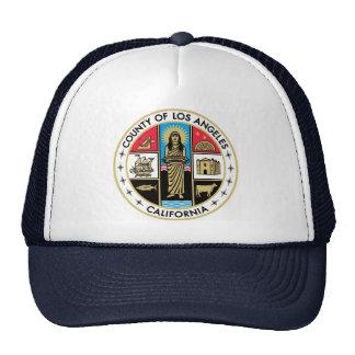 Vintage Los Angeles LA County Seal Hat