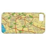 Vintage Los Angeles Map iPhone 5 Covers