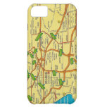 Vintage Los Angeles Map iPhone 5C Cover