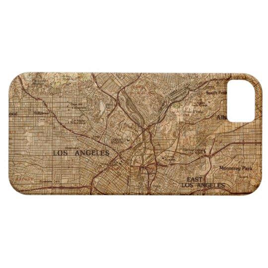 Vintage Los Angeles Map iPhone Case