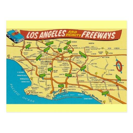 Vintage Los Angeles Postcards