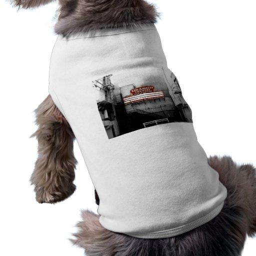 Vintage Los Angeles Theatre Sign Pet T-shirt