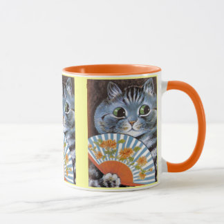 Vintage Louis Wain Cat at the Opera Art Mug
