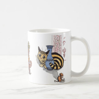 Vintage Louis Wain Cat Mug