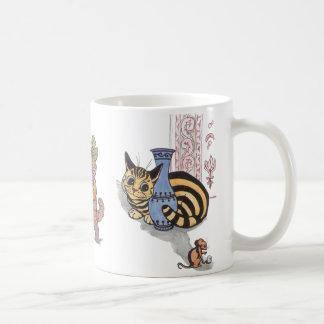 Vintage Louis Wain Cat Mug