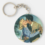 Vintage Love and Romance, Christmas Dance Key Chain