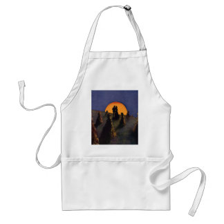 Vintage Love and Romance, Harvest Moonlight Standard Apron