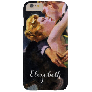 Vintage Love and Romance, Romantic Kiss Barely There iPhone 6 Plus Case