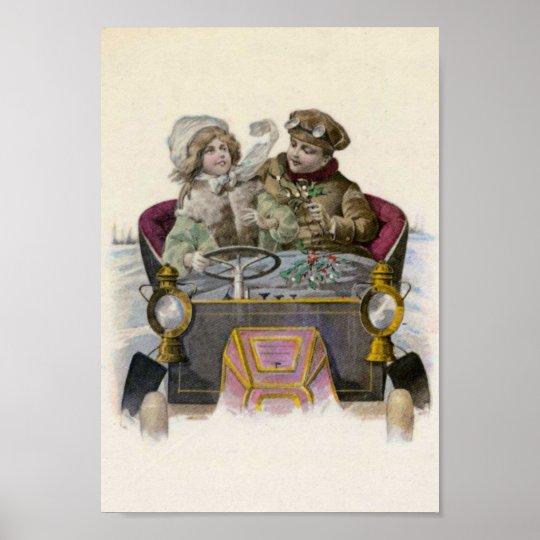 Vintage Love Poster