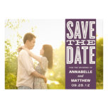 VINTAGE LOVE | SAVE THE DATE ANNOUNCEMENT