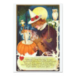 Vintage Love Witch 5x7 Paper Invitation Card
