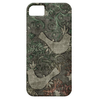 Vintage LoveBirds Embossed Print Case iPhone 5 iPhone 5 Case