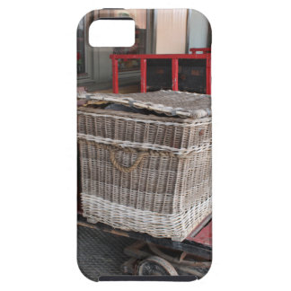 Vintage luggage and wicker basket - Range iPhone 5 Case
