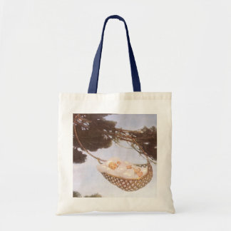 Vintage Lullaby, Rock Bye Baby Jesse Willcox Smith Budget Tote Bag