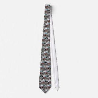 Vintage Lure Blue Streak Tackle Co Waltham MA Tie