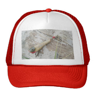 Vintage Lure Series Creek Chub Plunker Hat