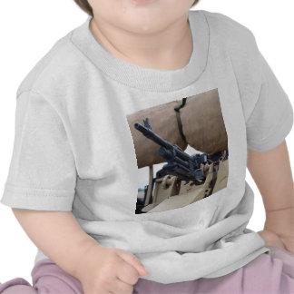 Vintage Machine Gun And Armor Shirt