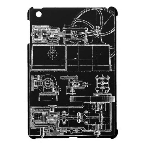 Vintage Machine iPad Mini Case
