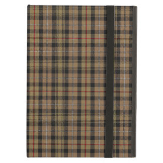 Vintage MacKenzie Hunting Tartan Plaid Pattern Case For iPad Air