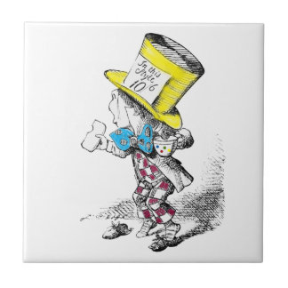 Vintage Mad Hatter from Alice in Wonderland Tile